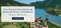 airfare or reduced single supplement - amawaterways